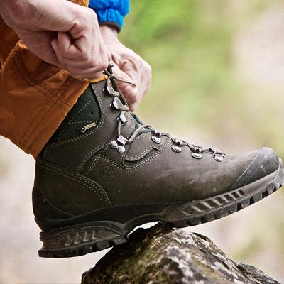 Средства для ухода за туристической обувью